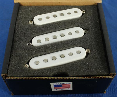 Tone Master USA Hand-Wound 65 Strat Alnico 5 Electric Guitar Pickup Set RW/RP