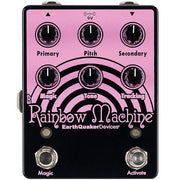 Earthquaker Devices Rainbow Machine Polyphonic Pitch Mesmerizer V2 Electric Guitar Effect Pedal *Limited Edition Pink On Black*
