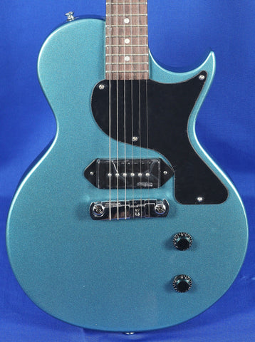 Vintage V120-GHB Gunhill Blue LP Electric Guitar Wilkinson
