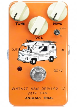 Animals Pedal Vintage Van Driving Is Very Fun Overdrive Guitar Effect Pedal