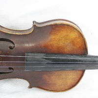 Vintage Von Fried August Glass Stradiuarius 1737 4/4 German Violin
