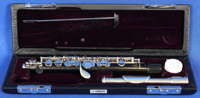 Yamaha Japan YPC82 Grenadilla Wood Piccolo w/ Case Woodwind Band Instrument