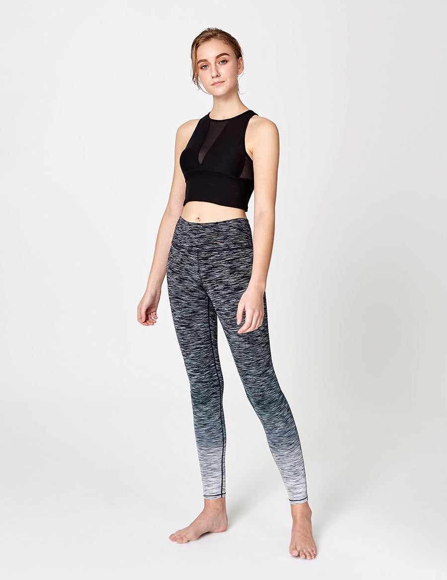easyoga LA-VEDA Noble Cropped Tank - L1 Black