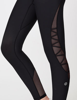 easyoga Lespiro Spiral Power Tights - L1 Black