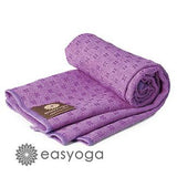 easyoga Titanium Yoga Mat Towel Plus 006 - P1 Purple