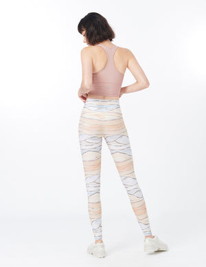 easyoga LA-VEDA Chummy Core Tights3 - FE9 Color Dune