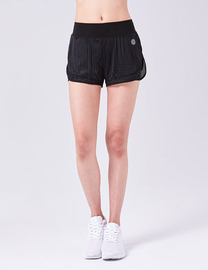 easyoga Lespiro High Five Shorts - L1 Black