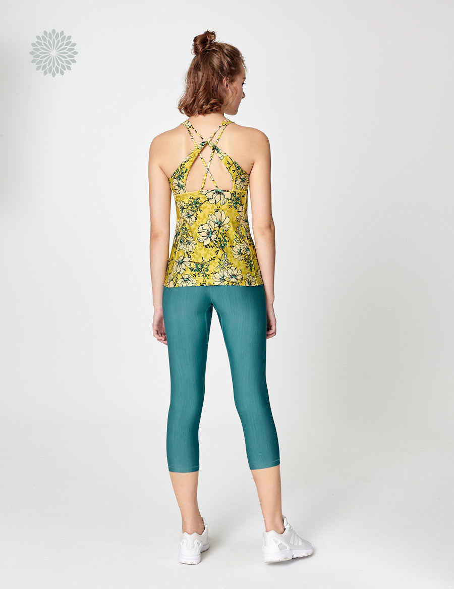 easyoga Lespiro Grace Turn Tank - F78 Golden Showers