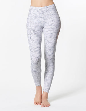 easyoga LA-VEDA Twiggy Core Tight3 - D52 White Black Stripe