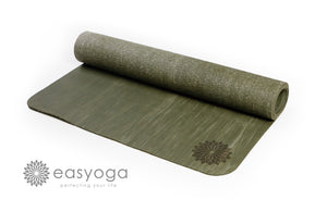 easyoga Premium Rubber EZ Travel - G4 Dark Green/ Light Green
