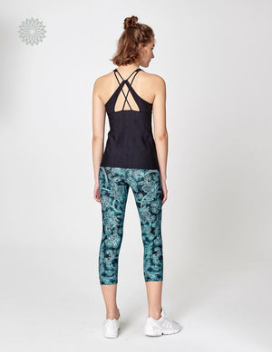 easyoga Lespiro Grace Turn Tank - L1 Black