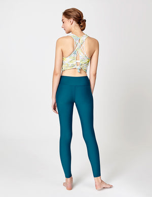easyoga LA-VEDA Twiggy Core Tights - B31 Coral Blue