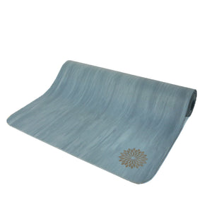 easyoga Premium Natural Rubber Yoga Mat 1 - B8 Blue gray