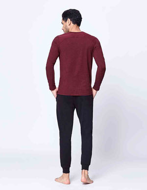 easyoga LA-VEDA Multipro Men's Reactive  Long Sleeve - M27 M-Purple Red