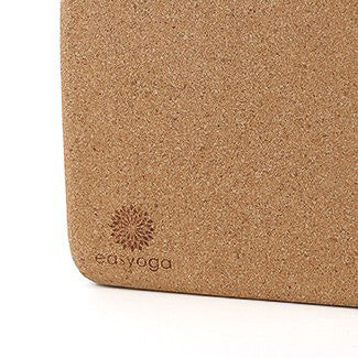 easyoga Eco Cork Block 80D - C1 Brown