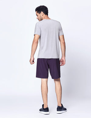easyoga Lespiro Men's Full Day T-Shirt - A5 Light Gray