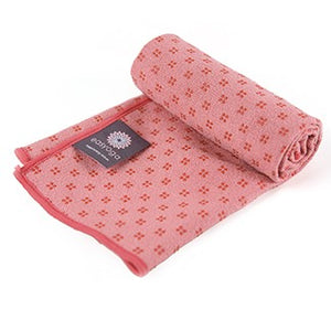easyoga Titanium Yoga Mat Towel Plus 005 - R3 Rosy Red