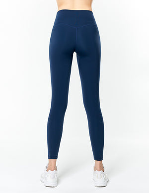 easyoga Lespiro Glossy Slim Tights2 - B08 Ink Blue