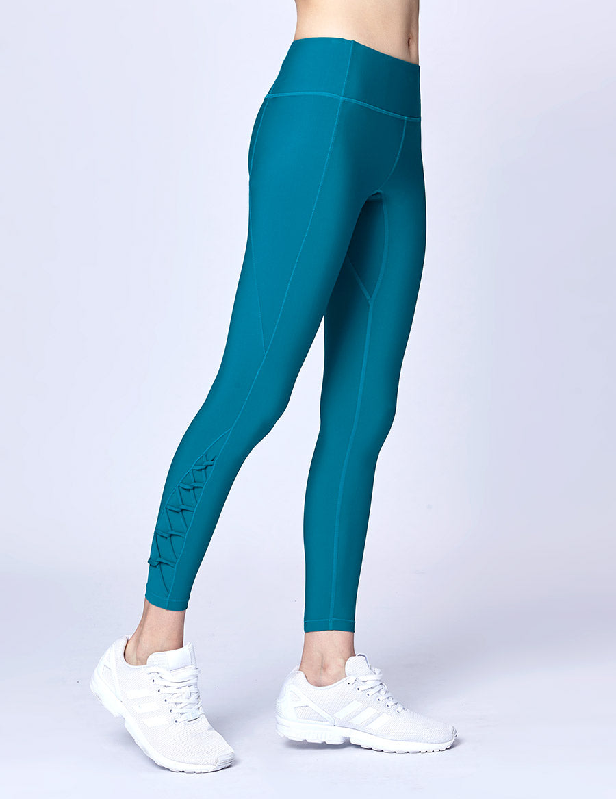 easyoga Lespiro Power Crossover Tights - G15 Emerald