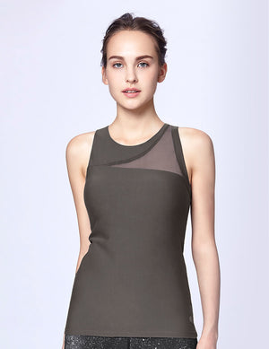 easyoga LA-VEDA Ethereal Look Me Up  Tank - A7 I-Gray