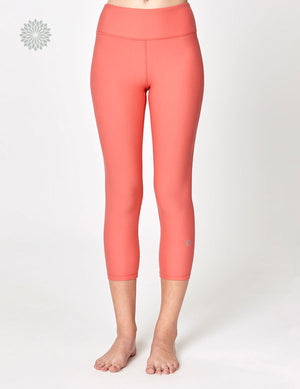 easyoga LA-VEDA Twiggy Core Capris3 - R25 Jellyfish Orange