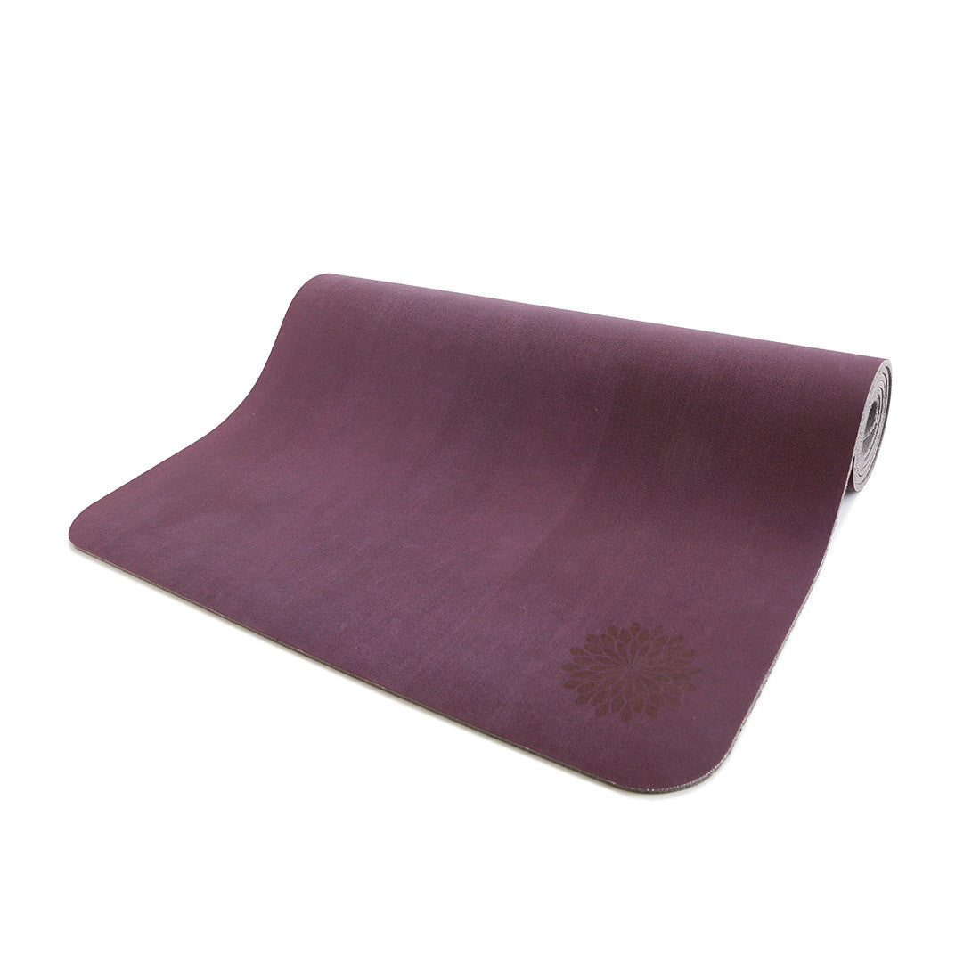 easyoga Premium Natural Rubber Yoga Mat - P7 Dark Purple / Light Purple