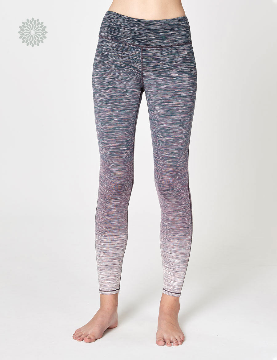 easyoga LA-VEDA Conflux Tights2 - D60 Layer Pinky/Gray Stripe