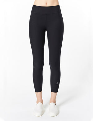 easyoga LA-VEDA Twiggy Core Cropped Tight - L1 Black