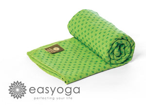easyoga Titanium Yoga Mat Towel Plus 006 - R4 Light Green