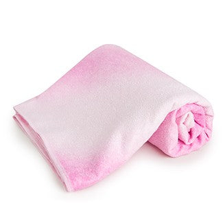 easyoga Titanium Yoga Mat Towel-Layered Color - R0 Layered Pink Color