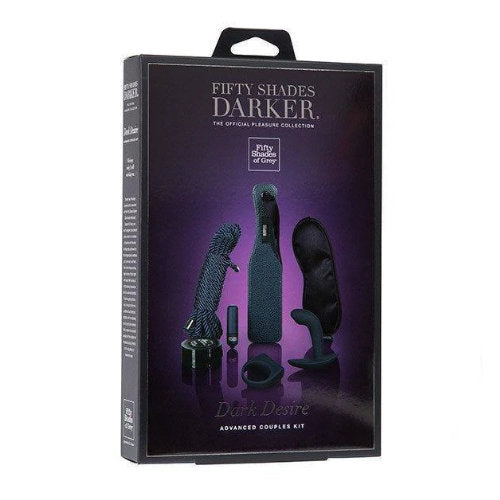 Fifty Shades Darker Dark Desire Advanced Bondage Couples Kit