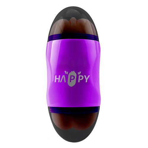 capsule double hole vibrate cup (purple)