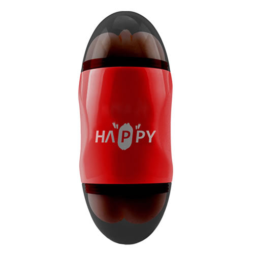 capsule double hole vibrate cup (red)