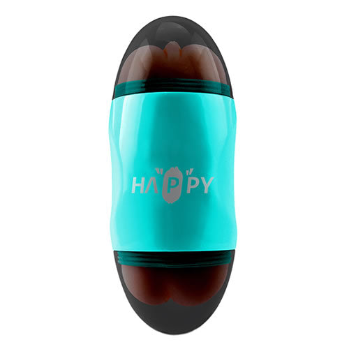 capsule double hole vibrate cup (teal)
