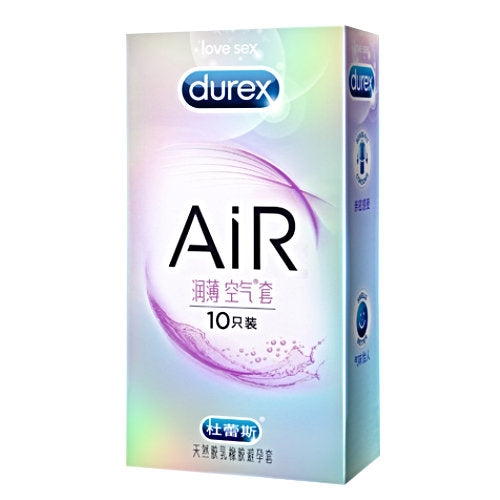 durex air extra lube new