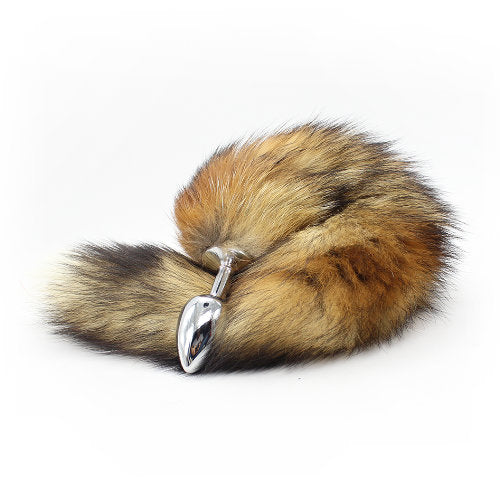 Fox Tail Anal Plug (Brown)