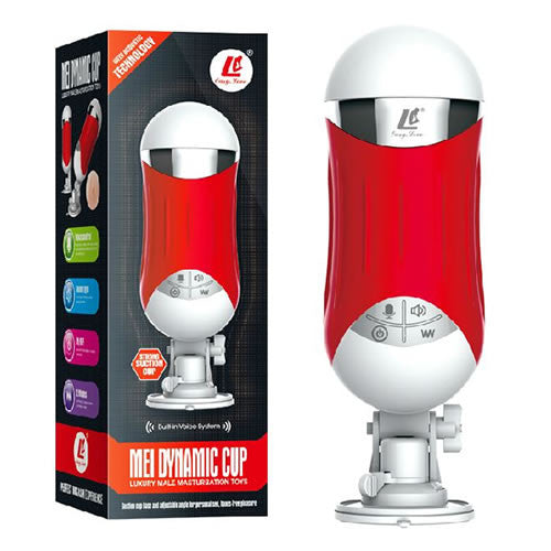 red microphone vibrate cup