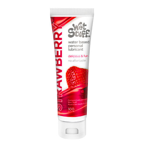 Wet Stuff Strawberry Lubricant (100 gr)