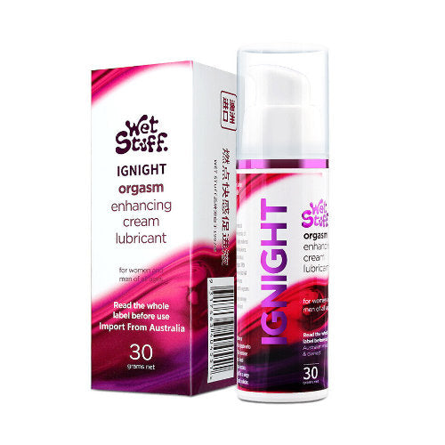 wet stuff ignight orgasm enhancing cream lubricant