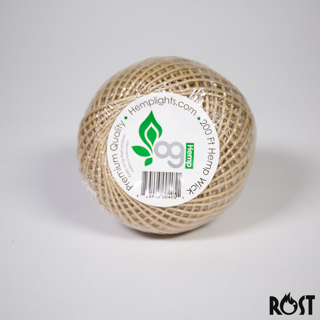 Hemplights Hempwick Spool 200 ft Roll