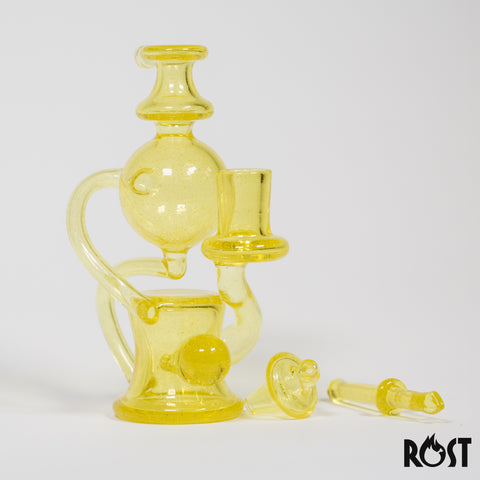 @minguezglass CFL Floating Recycler Full Set