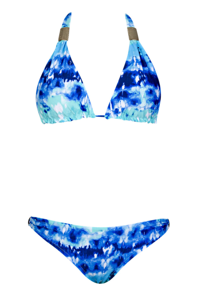Luz Blue Tie Dyed
