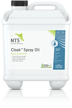 Cloak Spray Oil