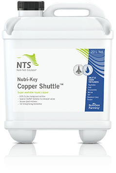 Nutri-Key Copper shuttle