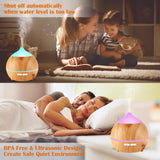 Diffuser - Wood Grain 250 ml for Home or Office - Naturally My Sister's Keeper