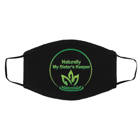 Protective Face Masks with Centered Logo