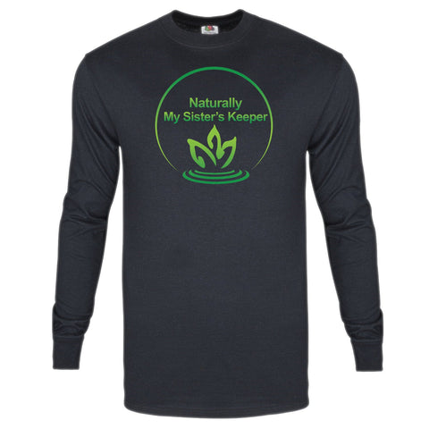 Long Sleeve T-Shirt (Black) - Naturally My Sister's Keeper