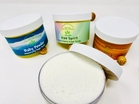 Moisturizing Sugar Scrub - Naturally My Sister's Keeper