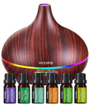 Diffusers - Ultrasonic Cool Mist Essential Oil Diffuser Aromatherapy Diffusers