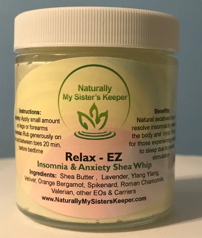 Relax-EZ Insomnia & Anxiety Shea - Naturally My Sister's Keeper